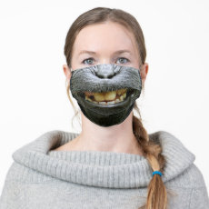 Nature Funny Monkey Mouth Cloth Face Mask