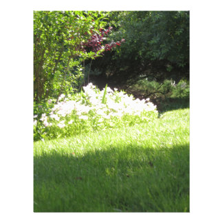 Nature Garden NewJersey America NVN669 GIFTS FUN Letterhead