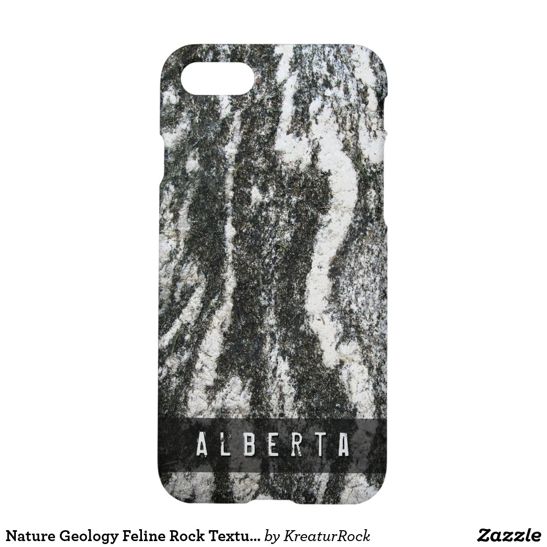 Nature Geology Feline Rock Texture Custom Name