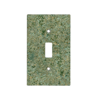 Nature Geology Green Rock Texture Light Switch Cover
