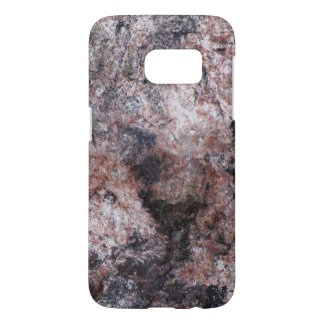 Nature Geology Pinkish Rock Texture Samsung Galaxy S7 Case