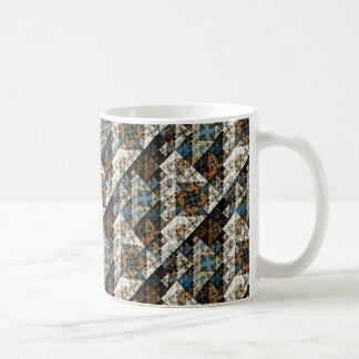 Nature Geometric Abstract Pattern Mug