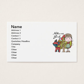 Nature Girl Business Card