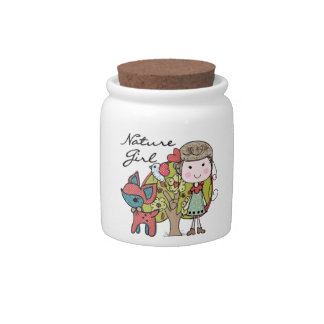Nature Girl Candy Dish