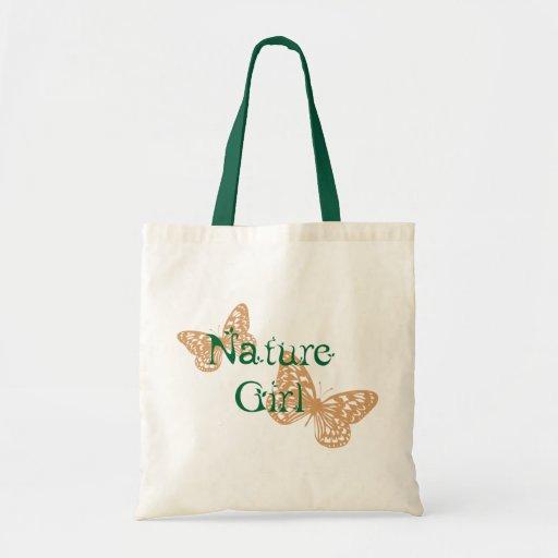 Nature Girl Tote Budget Tote Bag