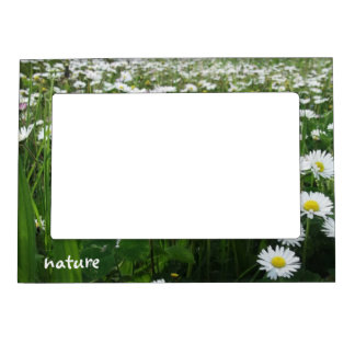 nature goose little flower meadow magnetic photo frame