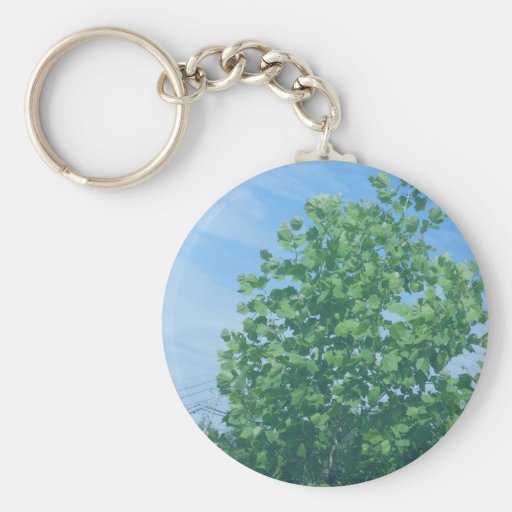 Nature Green Tree Environment Cause NVN674 GIFTS F Keychain