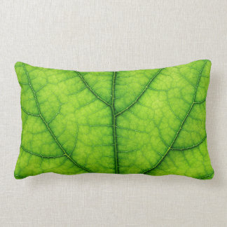 nature green tree leaf texture pillow