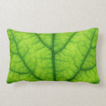 nature green tree leaf texture throw pillows