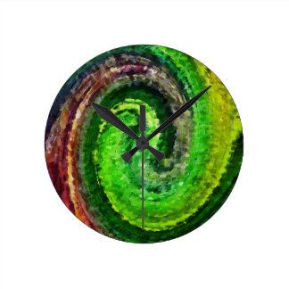 Nature Harmony Round Wall Clocks