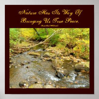 Nature Has Its Way Of Bringing Us...Poster Poster