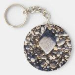 Nature Heart Keychain