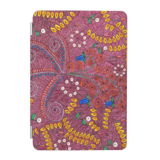 Nature In Chaos Floral And Leaves iPad Mini Cover