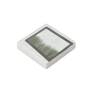 Nature In Technology Stone Magnet
