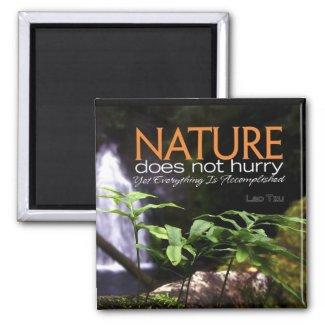 Nature Inspirational Magnet magnet