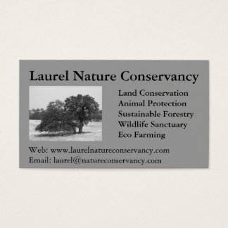 Nature Inspired Business Card