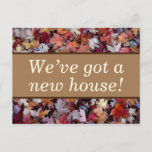 [ Thumbnail: Nature-Inspired & Rustic New-Home Postcard ]