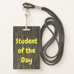 """[ Thumbnail: Nature-Inspired """"Student of The Day"""" Badge ]"""