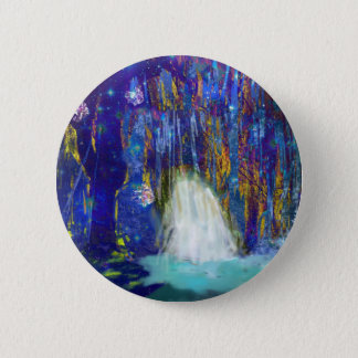 Nature is a fairy tale pinback button