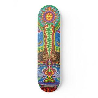 Nature is Communicating(big) skateboard