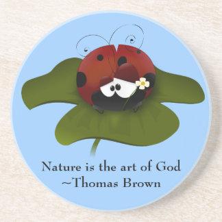Nature is God's Artwork Coaster