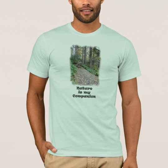 Nature is my Companion / Hiking Trail T-Shirt