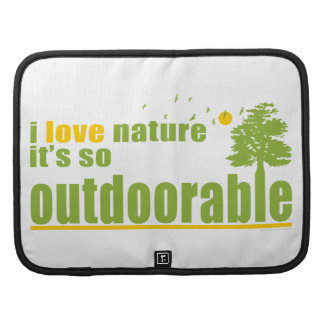 Nature is so Outdoorable Folio Planner