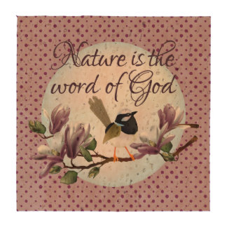 Nature is the word of God! Coasters