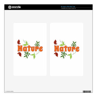 Nature Kindle Fire Skin