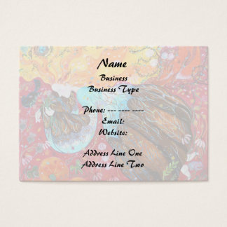 Nature Lady and the Seasons of the Year. Business Card