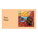Nature Lady and the Seasons of the Year Business Cards