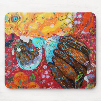 Nature Lady and the Seasons of the Year. Mouse Pad