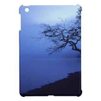 Nature Lakeside Dark Blue Mist iPad Mini Cases