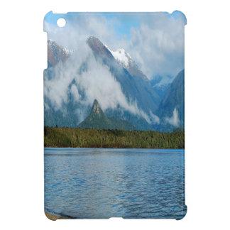 Nature Lakeside Rainbow Mountains iPad Mini Cover