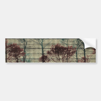 Nature Landscape Composition Bumper Sticker