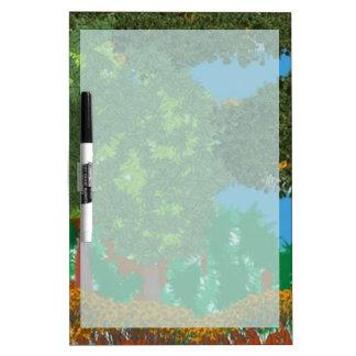 Nature Landscape Dry-Erase Board