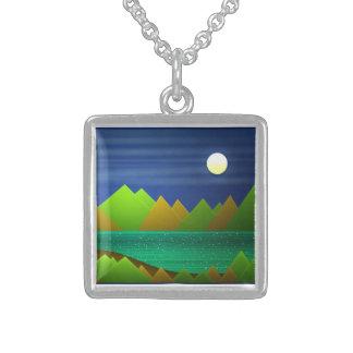 Nature Landscape Necklace