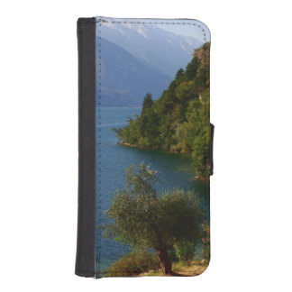 Nature Landscape Park Forest Water Trail Destiny Wallet Phone Case For iPhone SE/5/5s