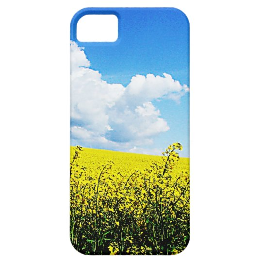 Nature landscape Sky farms Flowers Yellow Bright H iPhone SE/5/5s Case