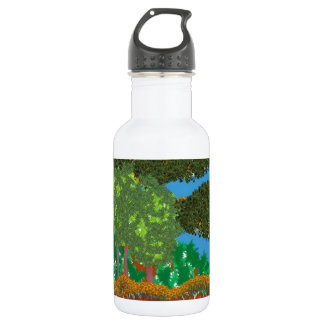 Nature Landscape Stainless Steel Water Bottle