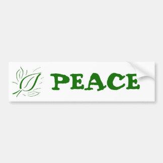 Nature Leaf Green - Bumper Stickers