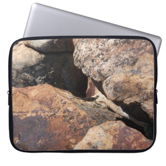 Nature Lizard in the Rocks Computer Sleeves
