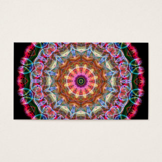 Nature Love kaleidoscope Business Card