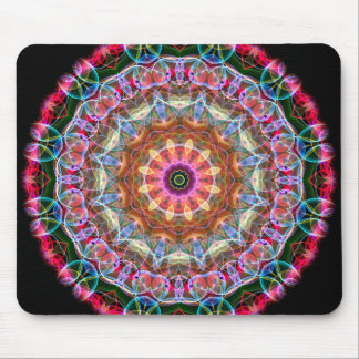 Nature Love kaleidoscope Mouse Pad