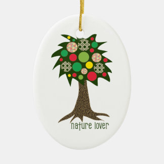 Nature Lover Ceramic Ornament
