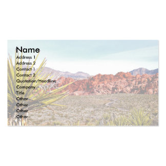 Nature Lover Desert Scenery Double-Sided Standard Business Cards (Pack Of 100)