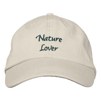 Nature Lover Embroidered Baseball Hat