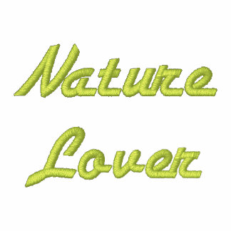 Nature Lover Embroidered Hooded Jacket