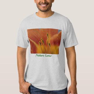 Nature Lover Flower Pollen T Shirt