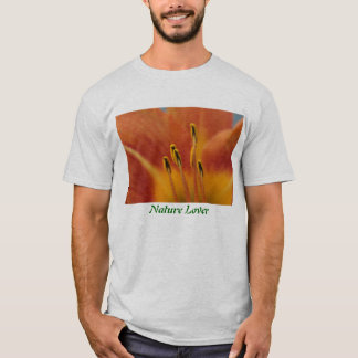 Nature Lover Flower Pollen T-Shirt